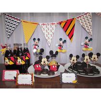 Kit Cumpleaños Mickey Mouse