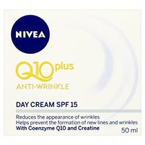 Nivea Visage Q10 Plus Creatina Anti Arrugas Crema De Día. /