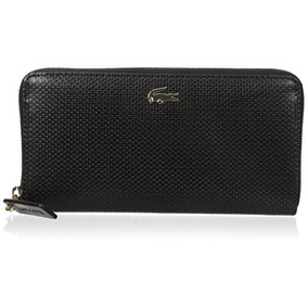Billetera Mujer Lacoste Chantaco Large Zip Wallet