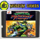 Tortugas Ninja Fighters Cartucho Sega 16 Bits -local-