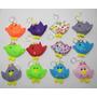 Passarinhas Baby - Kit 10 Lembrancinhas Feltro Melhor Preço
