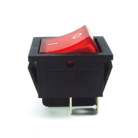 Switch Suichet Boton Interruptor 4 Pines Patas Filtro Ozono