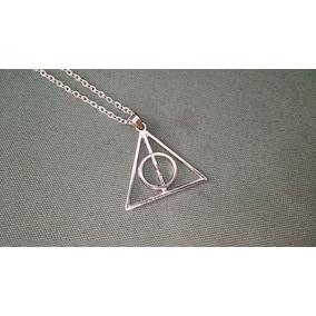 Dije Harry Potter Reliquias De La Muerte Cadenita Acero