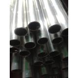 Tubo Redondo Aluminio 1/2 De 6 Metros