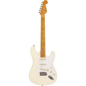 Guitarra Strato Sx Sst 57 Vintage Escala Maple C/ Bag
