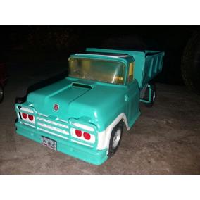 Camion Antiguo Lamina . Volquete. 60s.