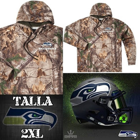 Seahawks Nfl Sudadera Camouflage Realtree 2xl Talla Unica