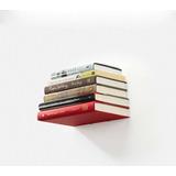 Estante Libro Biblioteca - Oculto Invisible Decor Acero