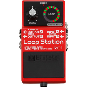 Loop Station Boss Rc1