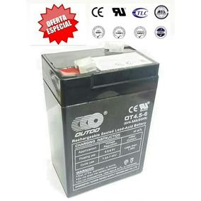 Bateria Pila Recargable Para Lampara De Emergencia 6v 4.5ah