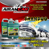 Shampoo Airam Car Para Carro. Autolavados-autoperiquitos.