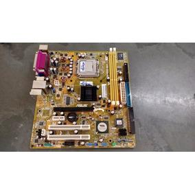 Placa Mãe Asus P5vd2-mx / Ckd Soquete 775 + Processador