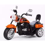 Moto A Bateria Niños B-fun Hollywood Choppera Con Luz Sonido