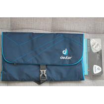 Necessaire Bolsa De Viagem Deuter Wash Bag Ii Azul Escuro