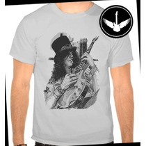 Camiseta Slash Guns N Roses Banda Hard Rock Ou Baby Look