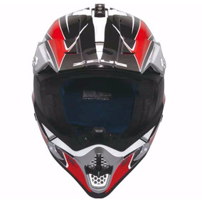 Capacete Zeus 951 Rr Cross Black/red