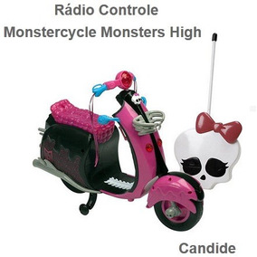 Moto Monster High Motor Cycle Monster Controle Remoto