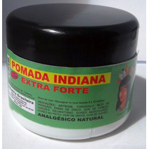 Pomada Indiana Extra Forte Anestésico Natural - 3 Potes