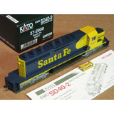 Sd40 Santa Fe Escala Ho Kato