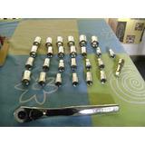 Matraca Craftsman De 1/2 Y 25 Dados Estandar Y Milimetricos
