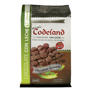 Chocolate Sin Azúcar Agregada Con Leche Mini Codeland X 2oo