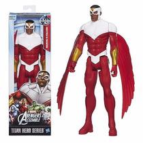 Boneco Vingadores Marvel Titan Hero - Falcão Falcon 30 Cm