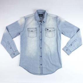 Camisa Jeans Acostamento Masculina 69101036 Original+nota.f