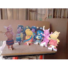 Backhardigans- 5 Displays De Mesa Decoração Festa Infantil