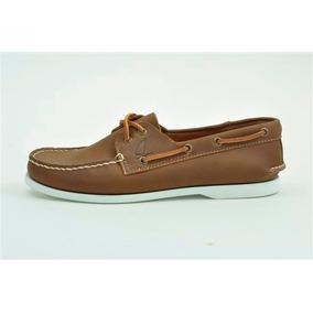 Zapato De Piel Top Sailer Modelo 501 Honey