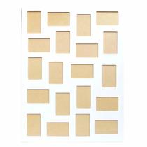 Quadro Painel Para 20 Fotos - Branco - Pague Cartão