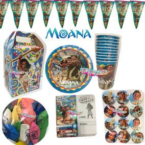 Moana Artículos Fiesta Paquete 20 Niños Fiesta Infantil