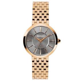 Relógio Akium Aço Dourado - 10029fb-01-veig-763 Top83