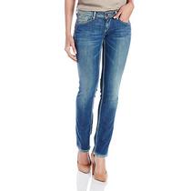 Pepe Jeans Para Dama Slim Fit Cintura Baja Pierna Recta