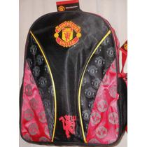 Mochila Backpack De Manchester United Ruz