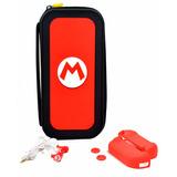 Kit 5 En 1 Nintendo Switch Super Mario Red
