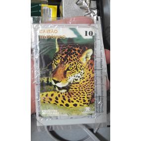 Cartão Telefônico Onça Pintada 92- No Lacre!!!