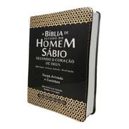 Bíblia De Estudo Do Homem Sábio Com Harpa
