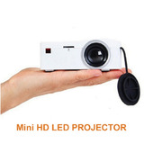 Mini Proyector Uc18 Portátil Led Lee Tarjeta Sd, Usb, Hdmi