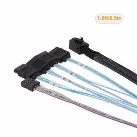 Cable Interior Hd Mini Sas Host (sff-8643) A 4 Sata Lsi