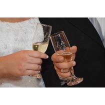 Taças Personalizadas Para Casamento - Noivos, Padrinhos