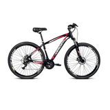 Bicicleta Alumínio Aro 29 Challenge Preto Com 21 Marchas