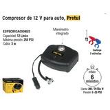 Compresor De Aire Para Vehiculos 12 V Pretul Cod. 21689