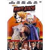 Dvd Marte Ataca Jack Nicholson Tim Burton Original Raridade