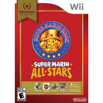 Super Mario All-stars Wii Nintendo Selects - Pronta Entrega