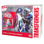 Kit 2 Barraca Toca Piscina De Bolinhas Transformers Braskit