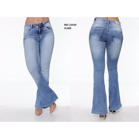 Calça Feminina Jeans Flare Biotipo
