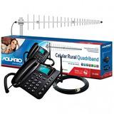 Kit Rural Aquário Ca-4200t Celular Antena Cabo 12x Sem Juros