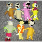 Colección 7 Peluches Vintage Hanna Barbera Lote