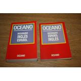 Diccionario Oceano 2 Tomos Ingles Español / Español Ingles