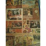 Lote De 10 Lobby Cards De Cine Mexicano Epoca De Oro Vol.1